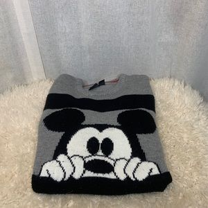 H&M MICKEY MOUSE STRIPED SWEATER